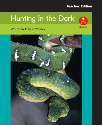 Hunting In the Dark