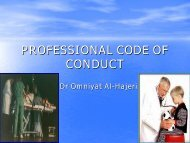 PROFESSIONAL CODE OF CONDUCT