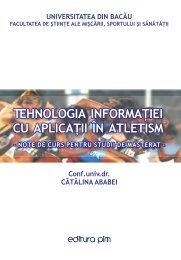 Tehnologia informatiei cu aplicatii in atletism - PIM Copy