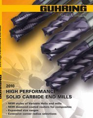 HIGH PERFORMANCE SOLID CARBIDE END MILLS