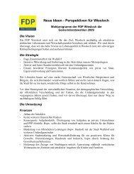 Neue Ideen - Perspektiven für Wiesloch - FDP Wiesloch
