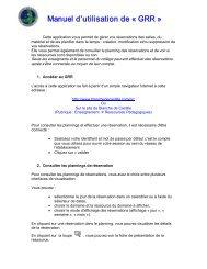 Manuel d'utilisation de Ğ GRR ğ - Blanche de Castille