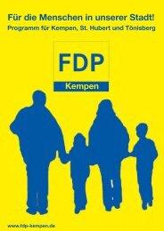 Präambel - FDP Kempen