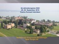 Präsentation Moje - Handchirurgie Kantonsspital Münsterlingen