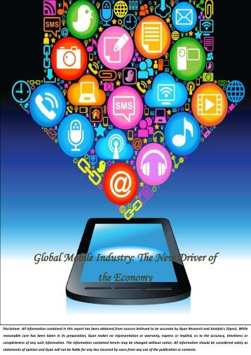 Synopsis & TOC-Global Mobile Industry-The New Driver of the Economy