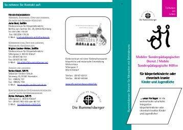 Mobiler Sonderpädagogischer Dienst / Mobile Sonderpädagogische ...