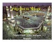 Pilgrims to Mecca