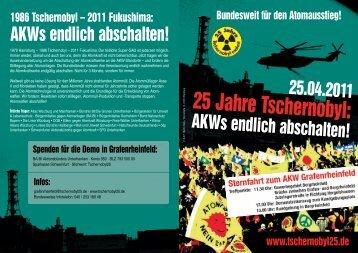 Flyer - Die Grünen in Würzburg-Land
