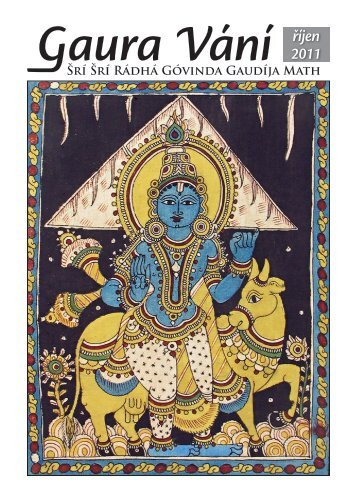 Z nového Gaura Vání vybíráme - Sri Sri Radha Govinda Mandir