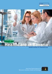 Healthcare in Bavaria - Der Cluster
