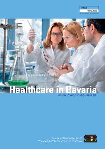 Healthcare in Bavaria - Der Cluster