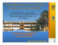 Mérida, Yucatán, 24-26 de marzo del 2010. - Facultad de Ciencias ...