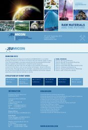 Conference Programme - Euromines