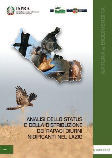 Analisi dello status e della distribuzione dei rapaci - Ispra