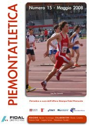Editoriale - Fidal Piemonte