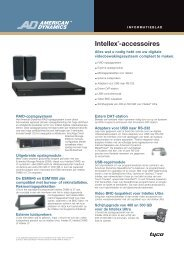 Intellex®-accessoires - Tyco Security Products