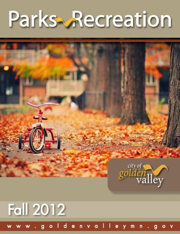 Fall 2012 - City of Golden Valley