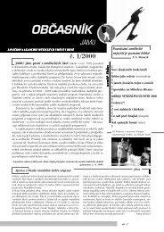 obcasnik 1/2000 - Janáčkova akademie múzických umění v Brně
