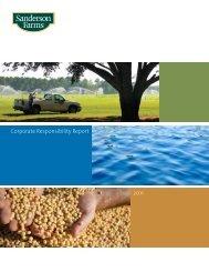 Corporate Responsibility Report 2011 - Sanderson Farms