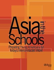 Preparing Young Americans for Today's ... - Asia Society