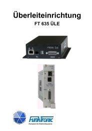 FT635 Überleiteinrichtung - Funktronic
