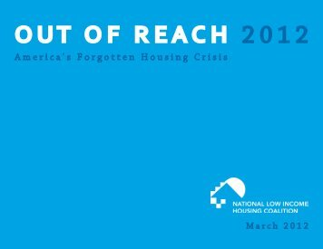 Out of Reach 2012 - National Low Income Housing Coalition