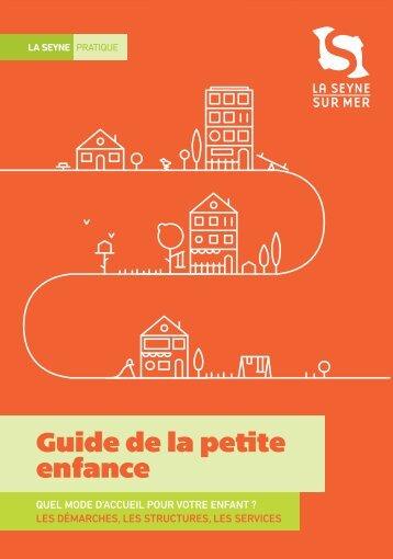 GUIDE-PETITE ENFANCE-OK.indd - La Seyne-sur-Mer