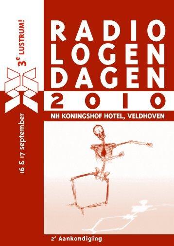 16 & 17 september - Nederlandse Vereniging voor Radiologie
