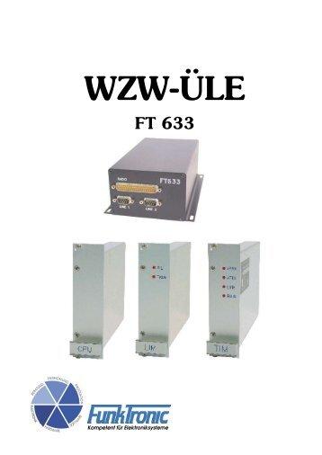 FT633 WZW-ÜLE - Funktronic