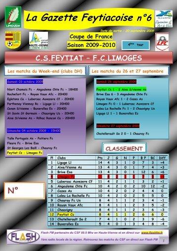 La Gazette Feytiacoise n°6 - Footeo