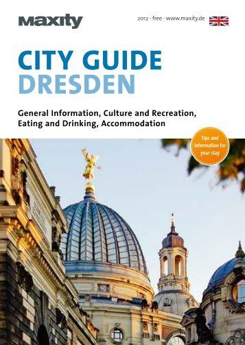 City Guide Dresden (pdf) - Knüpfer Verlag GmbH