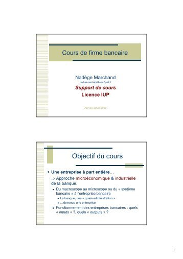 Objectif du cours - Index of - Free