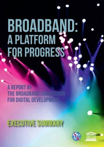 EXECUTIVE SUMMARY - Broadband Commission