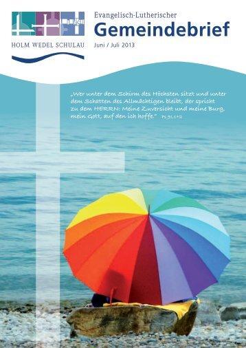 pdf-Download - Ev.-Lutherische Kirchengemeinde Wedel