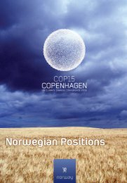Norwegian Climate Policy - Norway