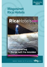 Magasinet Rica Hotels - DG Media