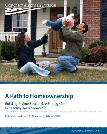 A Path to Homeownership - Center for American Progress