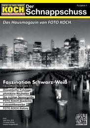 Faszination Schwarz-Weiß - Hifi & Foto Koch GmbH