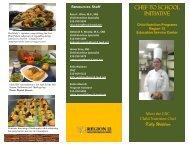 CHEF to SCHOOL Initiative Kelly Waldron - Region 13