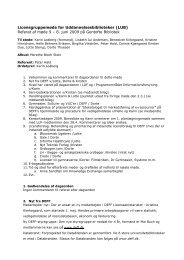 Referat af møde 9 - DEFF