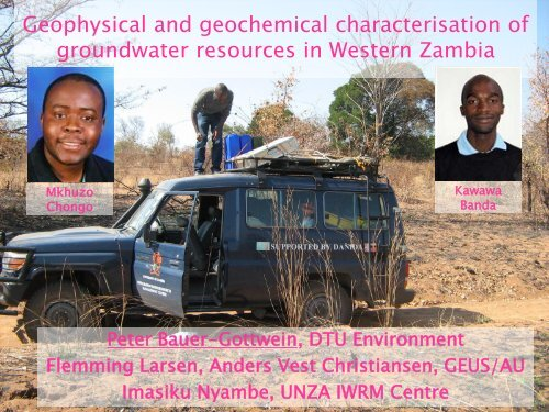 Geophysical and geochemical characterisation of groundwater ...