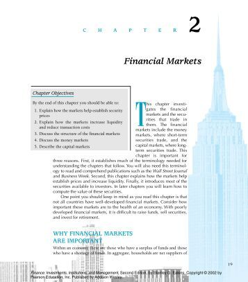 financial aspects of marketing management chapter 2 Chapter 2 - market environment and analysis 20 an industry body may attempt to influence which aspect of its marketing the global financial crisis was an.
