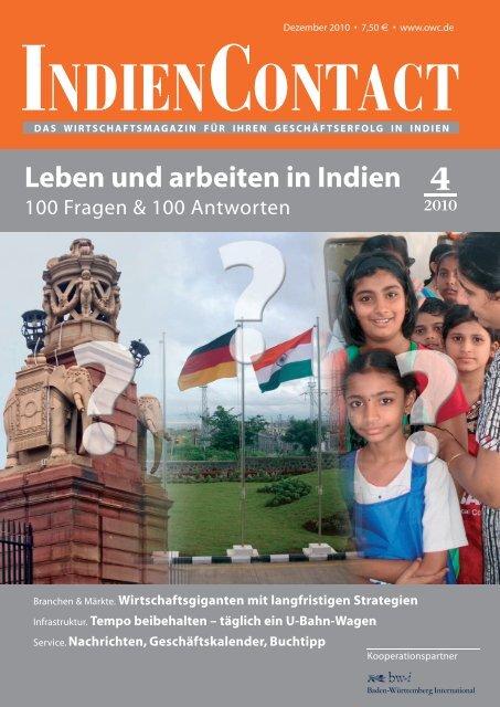 Leben und Arbeiten in Indien (PDF) - German Centre Delhi.Gurgaon