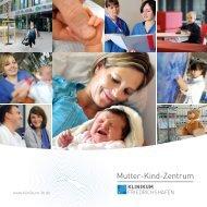 Flyer Mutter-Kind-Zentrum - Klinikum Friedrichshafen GmbH