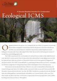 Ecological ICMS - Ecosystem Marketplace