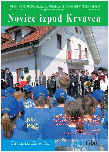 Številka 2, Junij 2007 - Cerklje.si