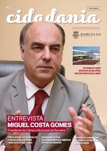 Revista cidadania_N1.indd - Município de Barcelos