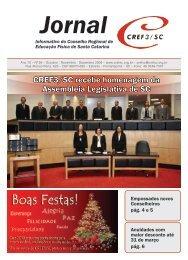 Jornal do CREF3/SC - Conselho Regional de Educação Física