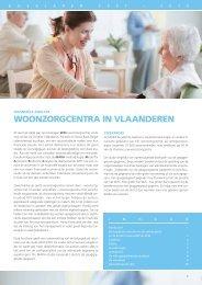 Woonzorgcentra in Vlaanderen, analyse 2007-2010 - Belfius