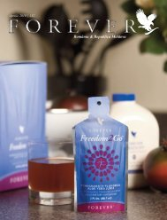 Aprilie 2010 - Forever Living Products
